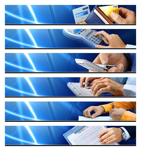 Визуалы для корпоративного сайта коммерческого банка «Универсалбанк»