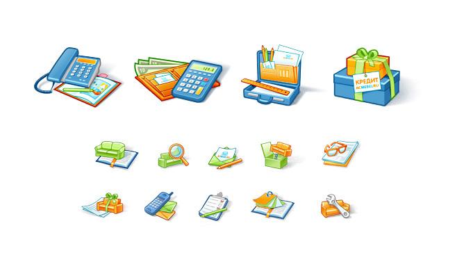Иконки для интернет-магазина Ас-Мебель