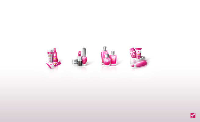 Иконки для интернет-магазина косметики и парфюмерии