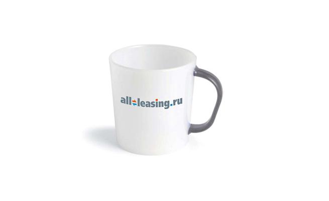 Кружка с логотипом All-Leasing.ru