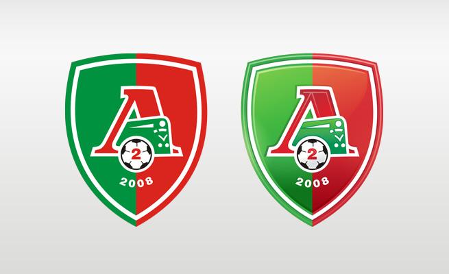 Логотип футбольной команды Локомотив-2